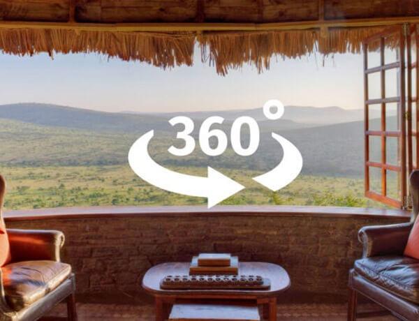 360 degress game view