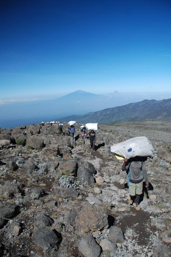 10 Days Lemosho Route