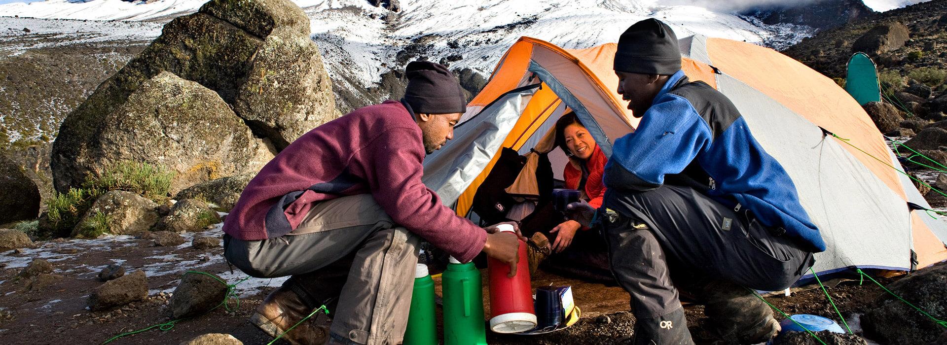 Kilimanjaro Private Toilet Tents Banner