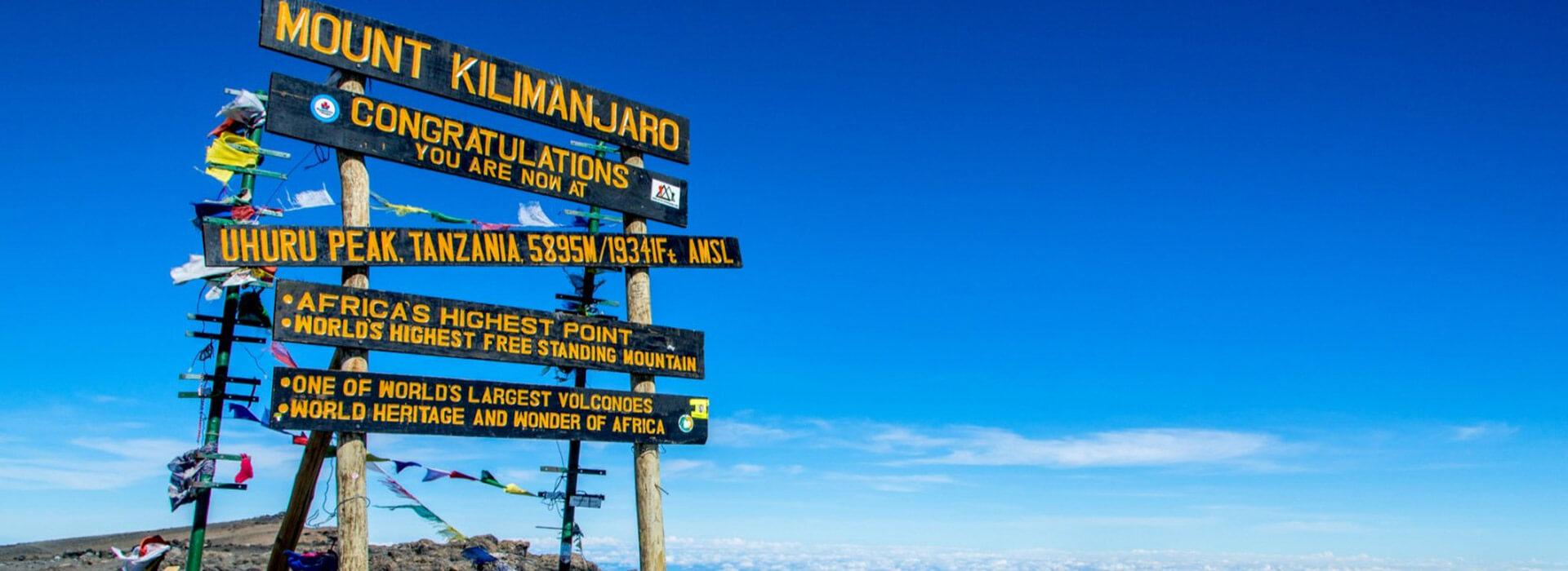 Mount Kilimanjaro banner