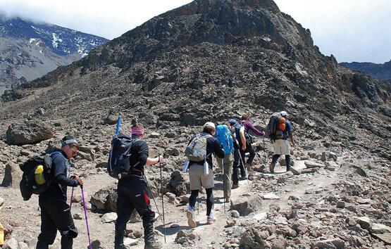 Mount Kilimanjaro Climibng